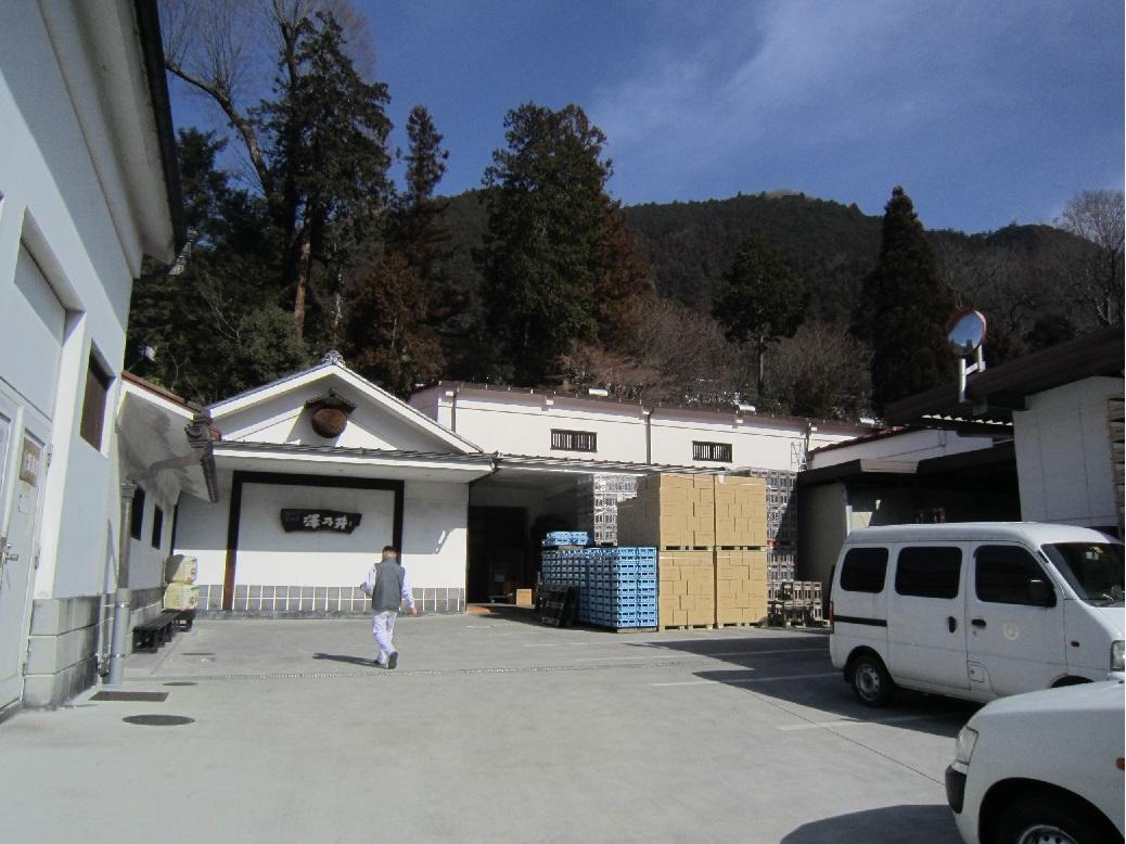 Ozawa Shuzo brewery in Sawai
