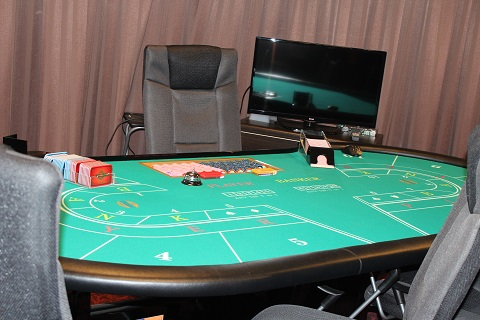 This is the table used to enjoy playing casino