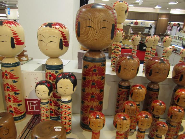 Kokeshi , Japanese traditional wooden doll