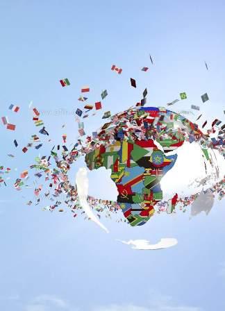 グローバル化写真