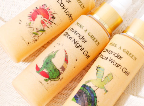Organic cosmetics produced by Miss.Apricot company (Miss.Apricot)